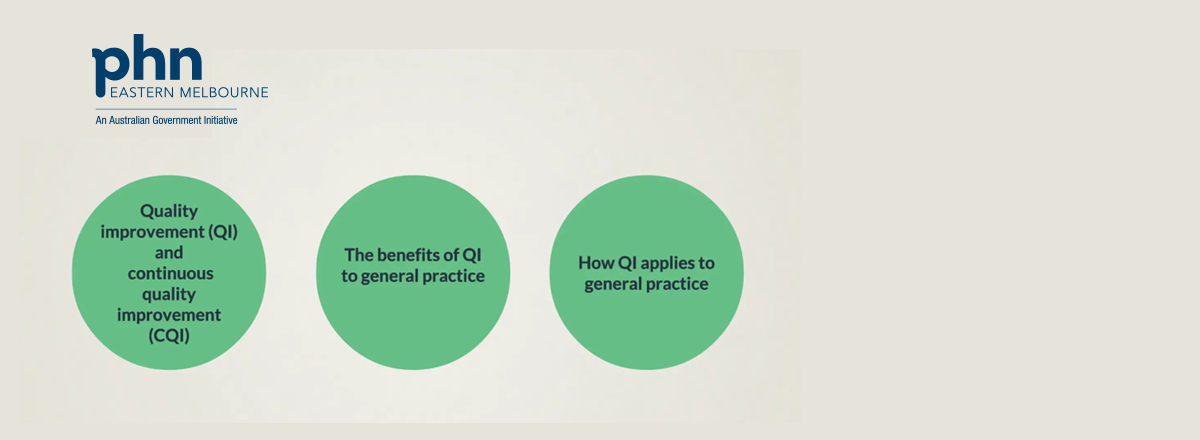 New! Quality Improvement in General Practice